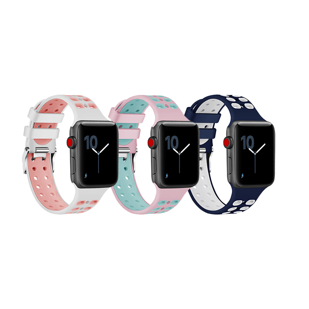 Apple Watch Band Breathable Soft Silicone