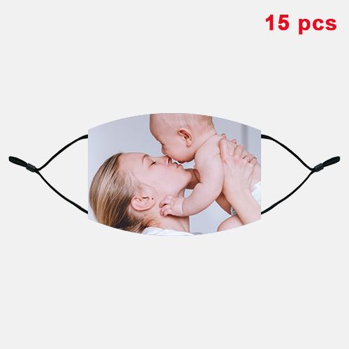 Custom Cotton Face Mask [15 PCS]