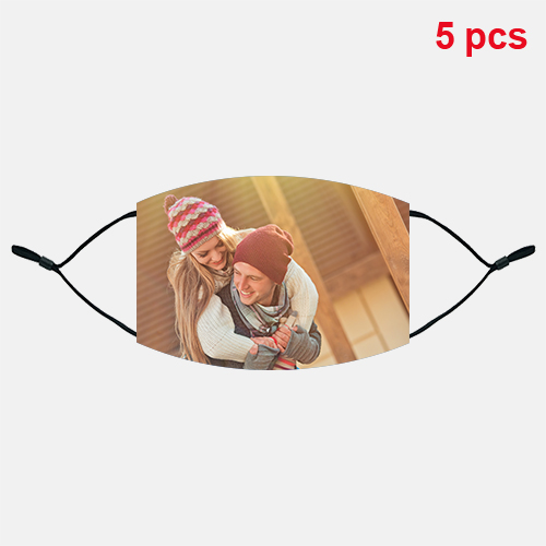 Custom Cotton Face Mask [5 PCS]