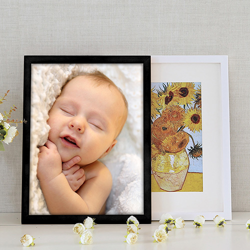 Custom Wood Photo Frame
