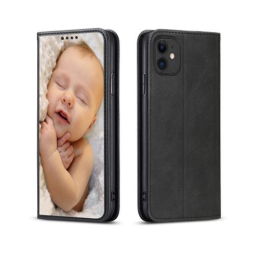 Custom for iPhone 11 Flip Wallet Case