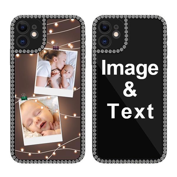 Custom for iPhone 11 Bling Rhinestone Case