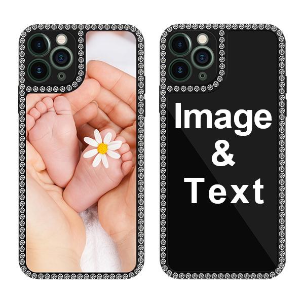 Custom for iPhone 11 Pro Bling Rhinestone Case
