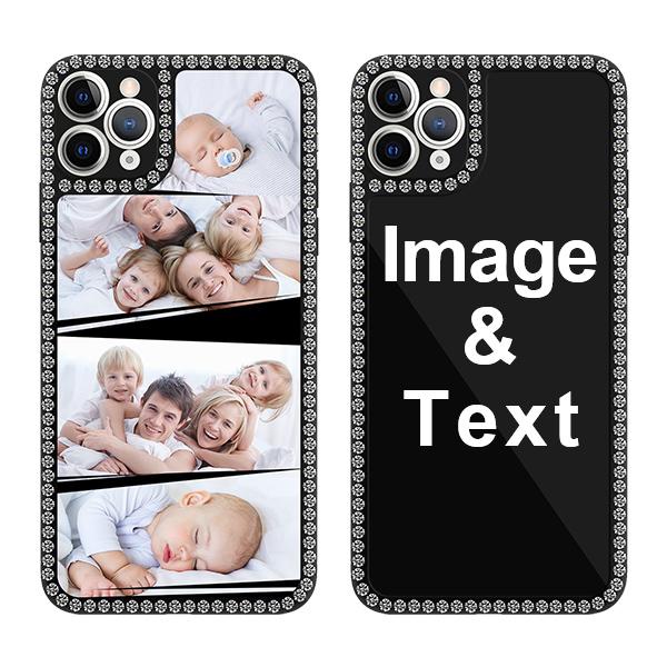 Custom for iPhone 11 Pro Max Bling Rhinestone Case