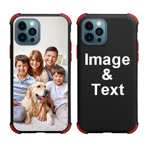 Custom for iPhone 12 Pro Max Colorful Case