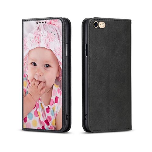 Custom for iPhone 6 Card Flip Wallet Case
