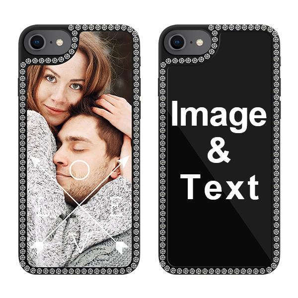 Custom for iPhone 7 Bling Rhinestone Case