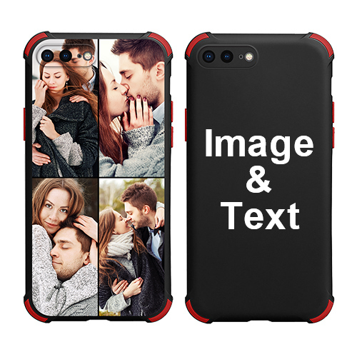 Custom for iPhone 7 Plus Colorful Case