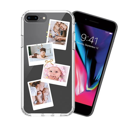 Custom for iPhone 8 Plus Military Grade Case