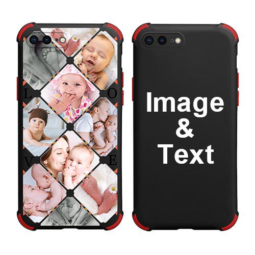 Custom for iPhone 8 Plus Colorful Case