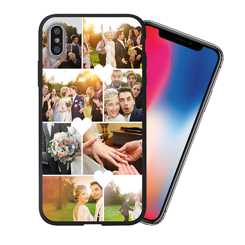 Custom for iPhone X 3D Matte Case