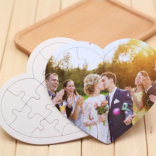 Custom Jigsaw Puzzles Heart