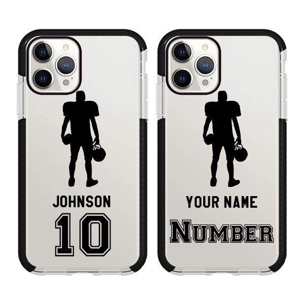 Custom Football Case With Name And Number
