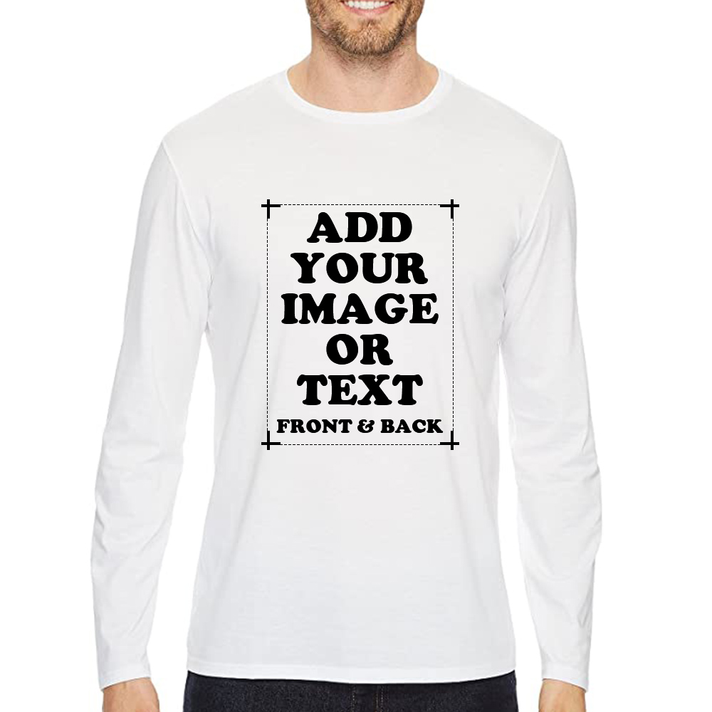 Custom Men's Premium Long Sleeve T-Shirt