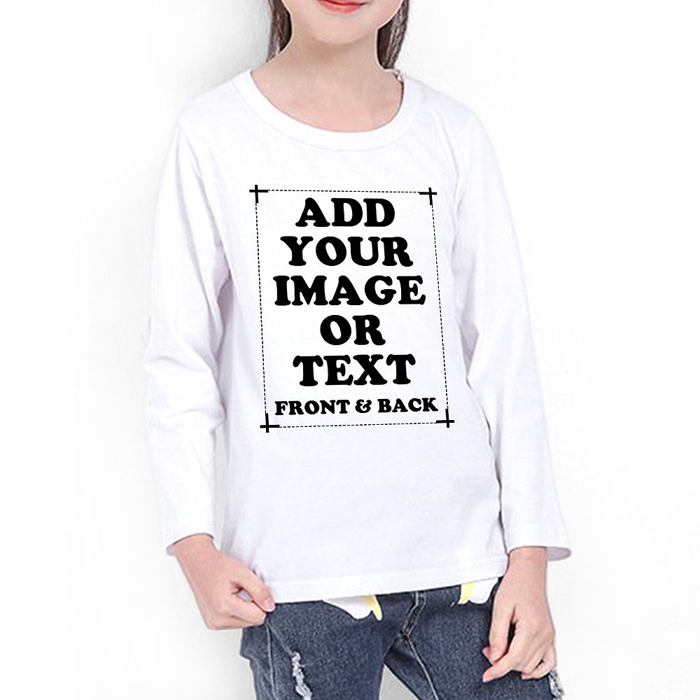 Custom Kid's Premium Long Sleeve T-Shirt