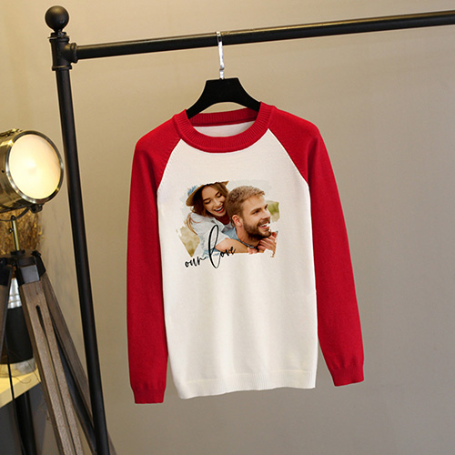 Custom Adult Raglan Sweatshirt