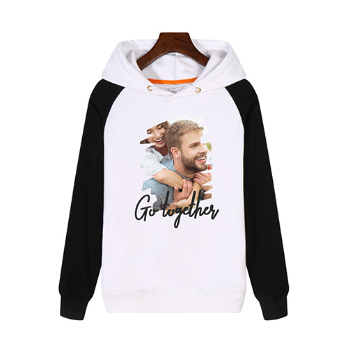 Custom Adult Raglan Hooded Sweatshirt