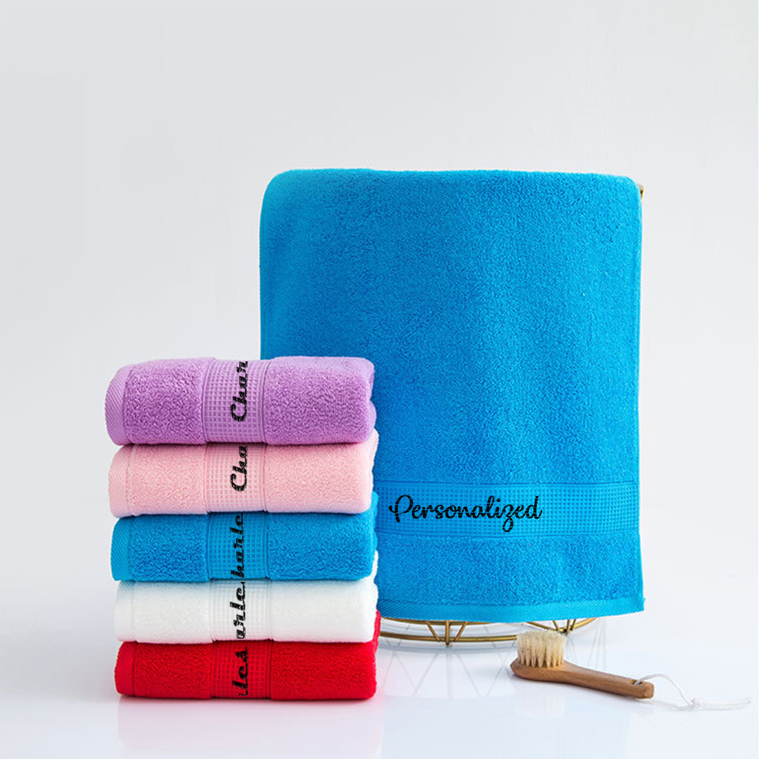 Personalised Monogram Towels