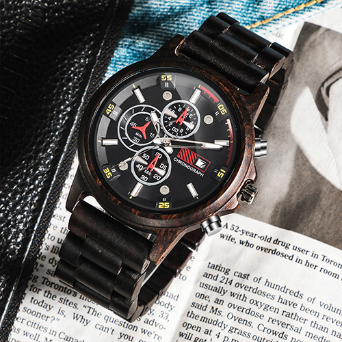 Personalized Text Wooden Watches [1010]