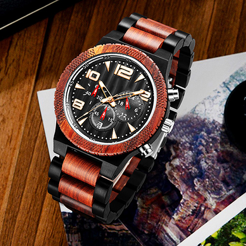 Personalized Text Wooden Watches [1016]